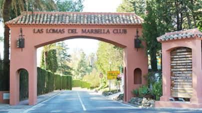 The picturesque Las Lomas Pueblo, a beautiful community in Andalusian pueblo style.