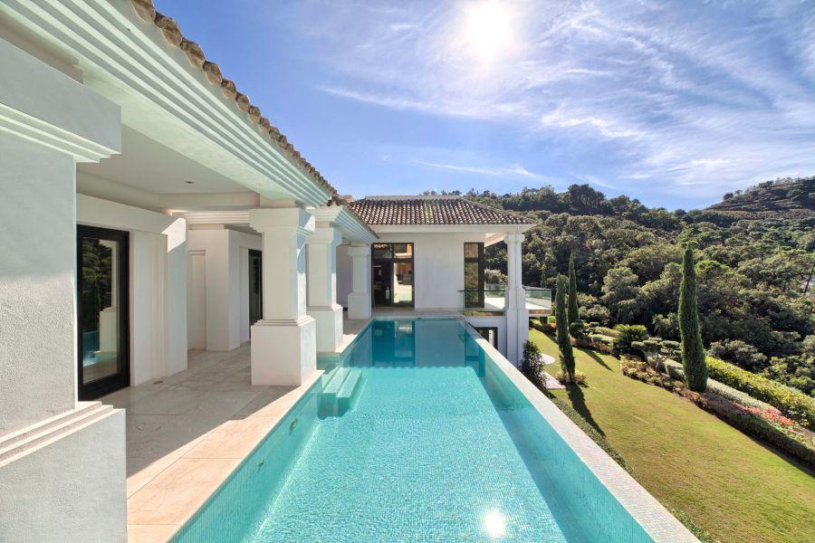 La Zagaleta Mediterrane Villa Versteigerung vom 15-20 April Henger Immobilien Marbella